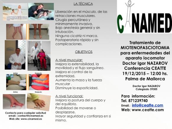 Conferencia Dr. Igor Nazarov en Centro Ceatte Palma de Mallorca